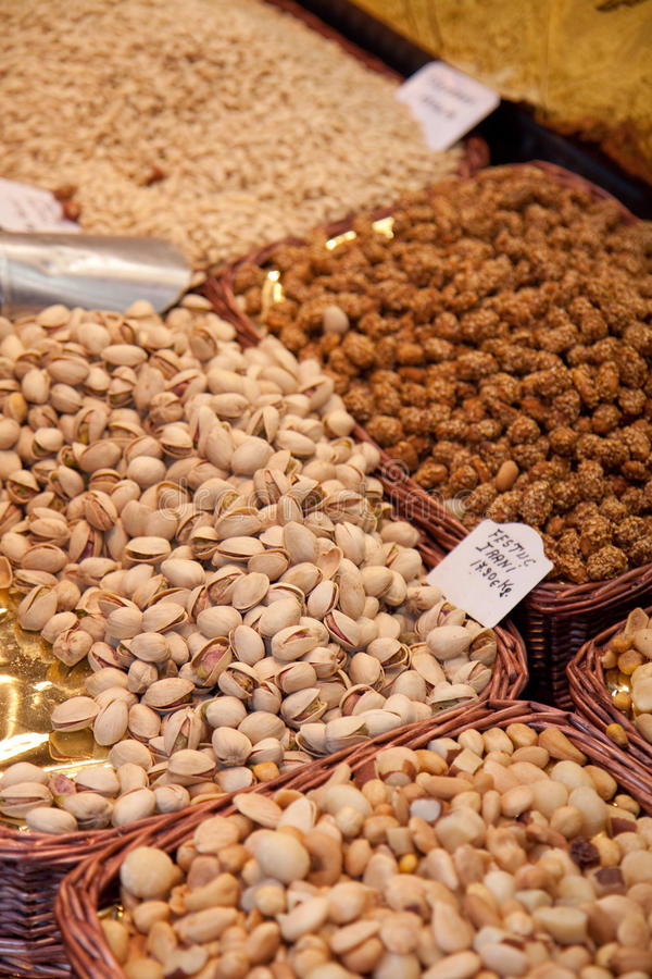 Download Nuts mix stock image. Image of market, sell, food, snack - 22336005