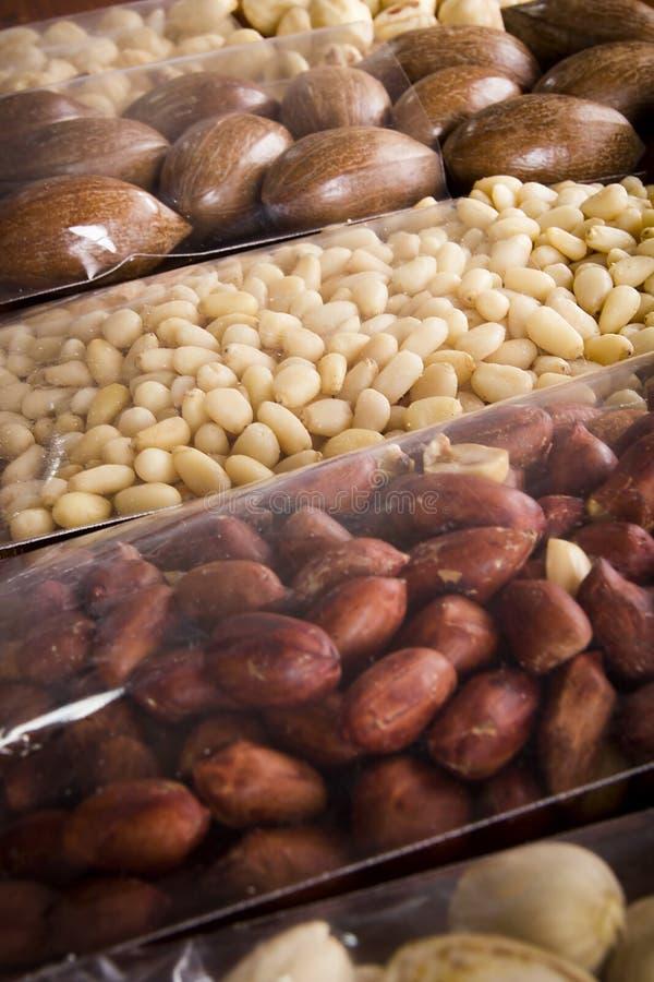 Nuts-Mix für gesunde Ernährung stockfotografie
