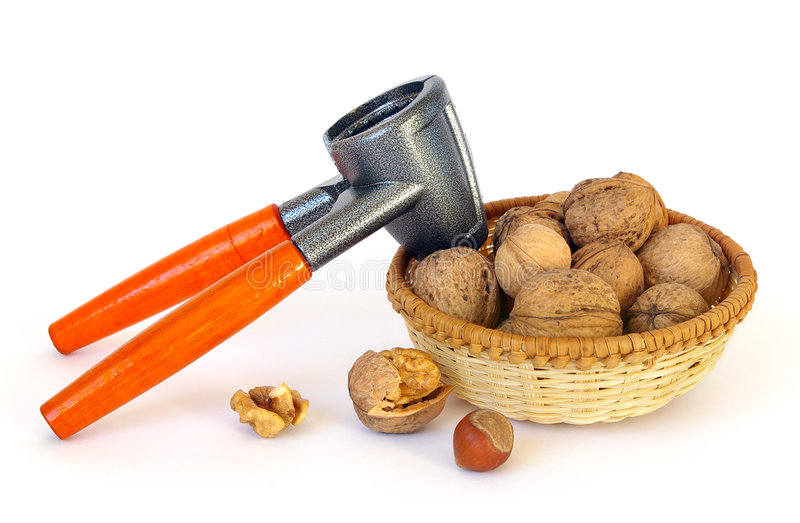 Download Nuts And Nutcracker Royalty Free Stock Photo - Image: 7464635