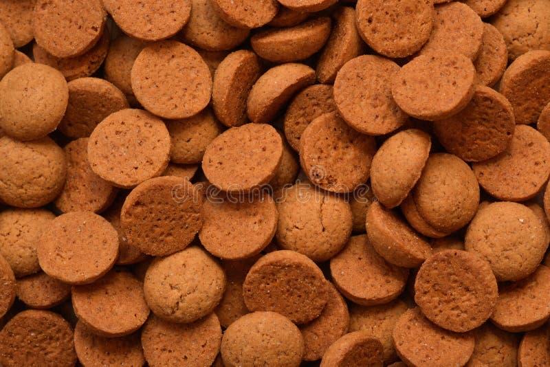 nuts Süßigkeit des typischen niederländischen Ingwers alias pepernoten oder kruidnoten gegessen während Sinterklaas lizenzfreie stockbilder