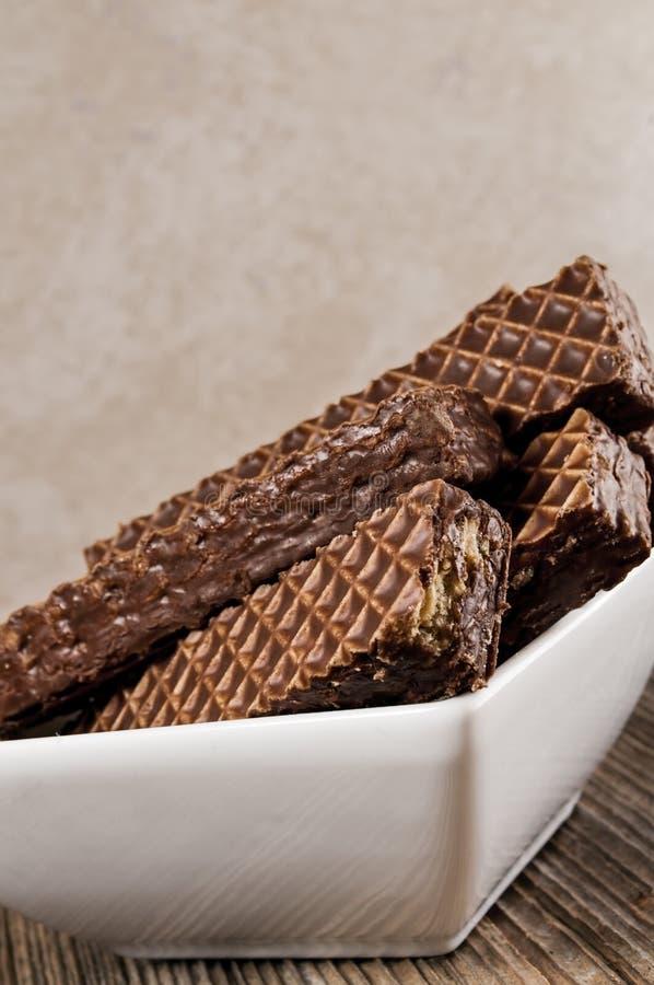 Nutty σοκολάτα φραγμών, κύπελλο στοκ εικόνες με δικαίωμα ελεύθερης χρήσης