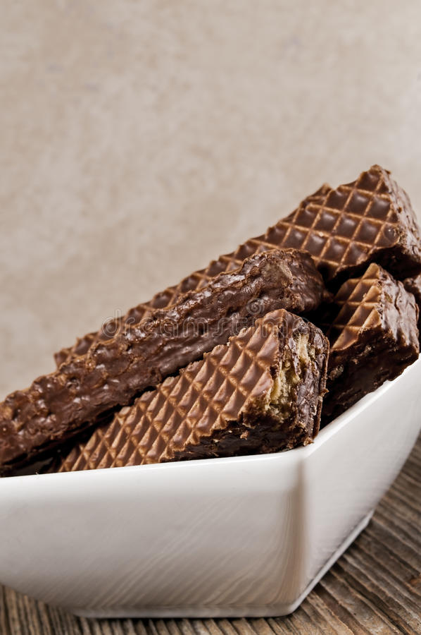 Nutty bars chocolate,bowl royalty free stock images