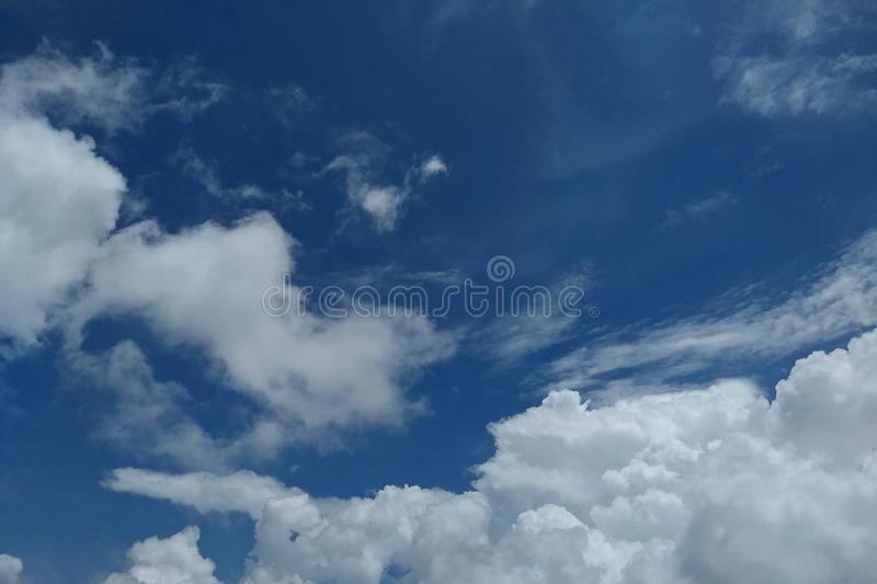 Nuture beautiful blue sky and white cloud background. Nuture beautiful blue sky and white cloud background,Have copy space royalty free stock image