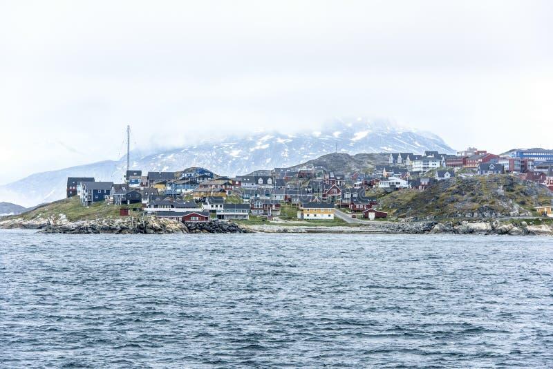 Nuuk Гренландия стоковая фотография