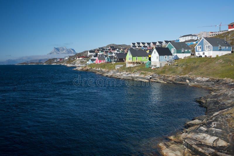 Nuuk, a capital de Gronelândia