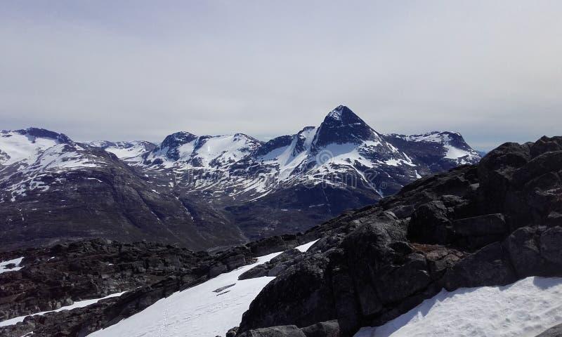 Nuuk Greenland mountain Beautifull Nature royalty free stock photos