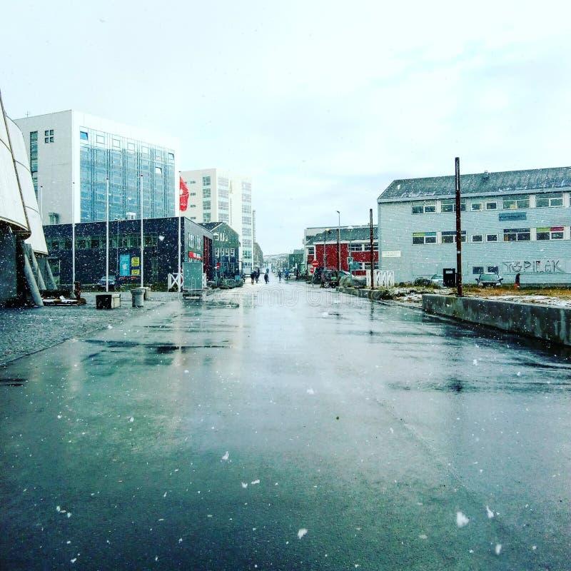 Nuuk Greenland royalty free stock image