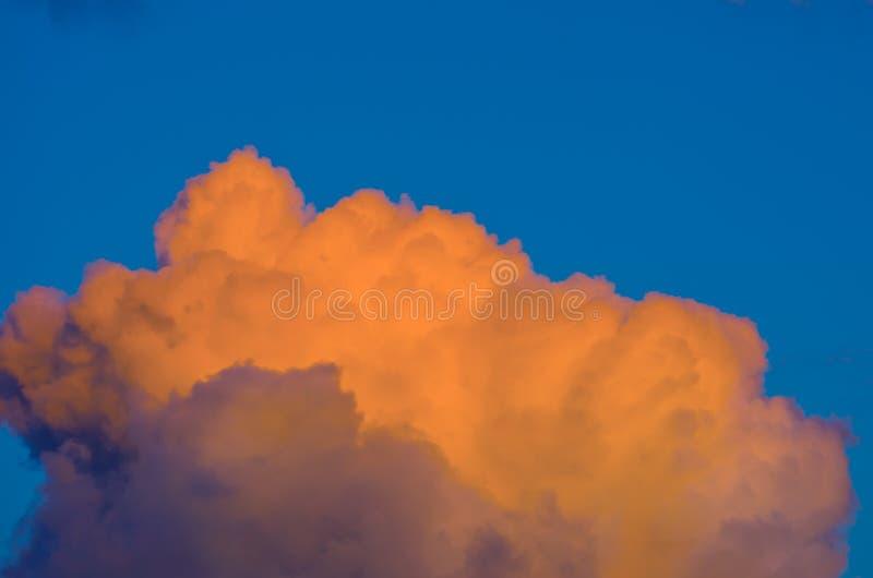 Nuvem de Cummulus imagem de stock