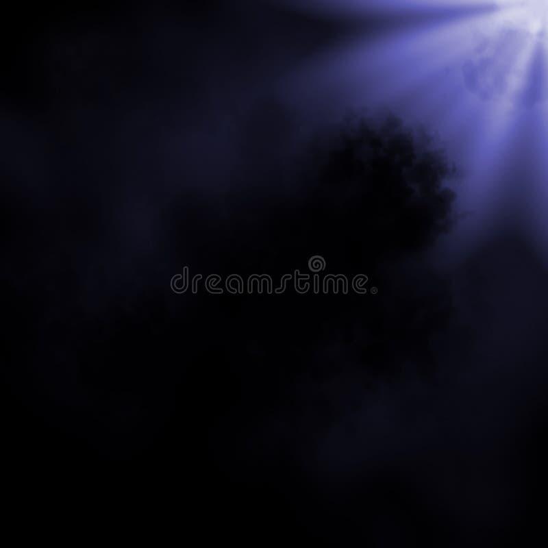 Nuvem de poeira ilustração stock