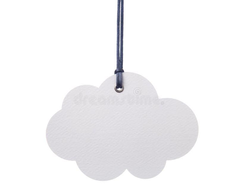 Nuvem de suspensão fotografia de stock royalty free