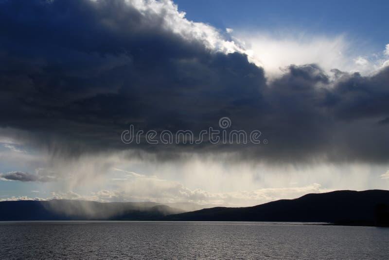 Nuvem de tempestade fotos de stock