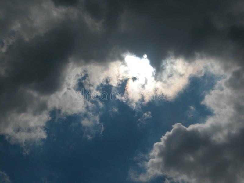 Nuvem de trovão imagens de stock royalty free