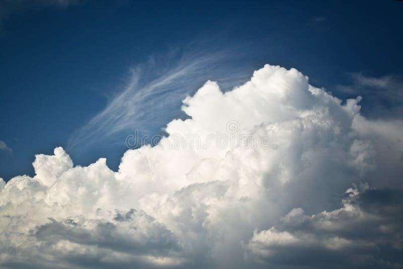 Nuvem grande foto de stock royalty free