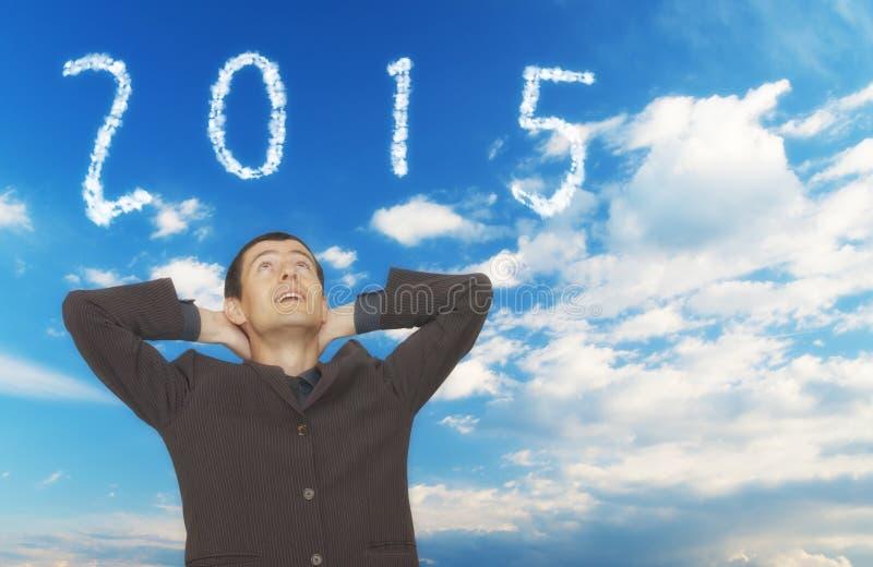 2015 nuvens fotos de stock