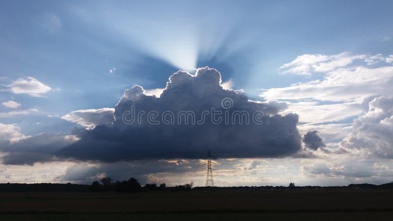 Nuvens, imagens de stock