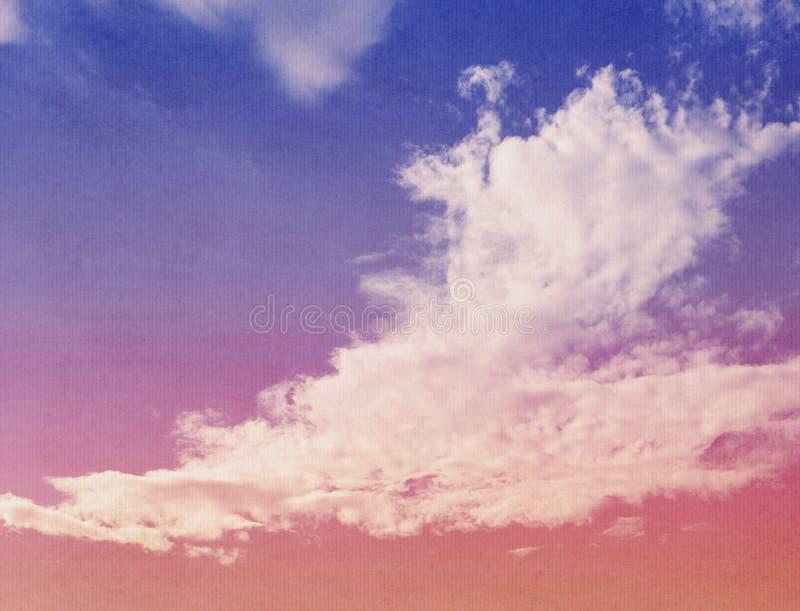 Nuvens abstratas da natureza fotos de stock royalty free