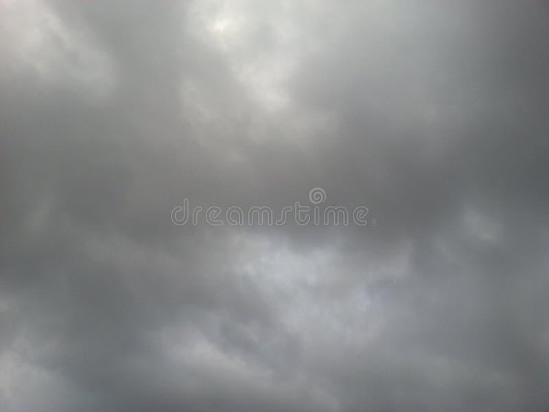 Nuvens cinzentas imagem de stock