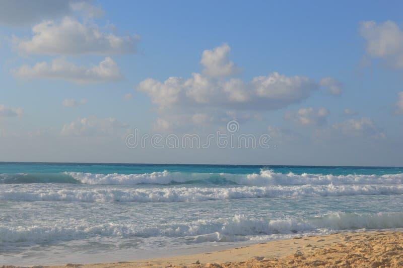 Nuvens da paisagem fotografia de stock