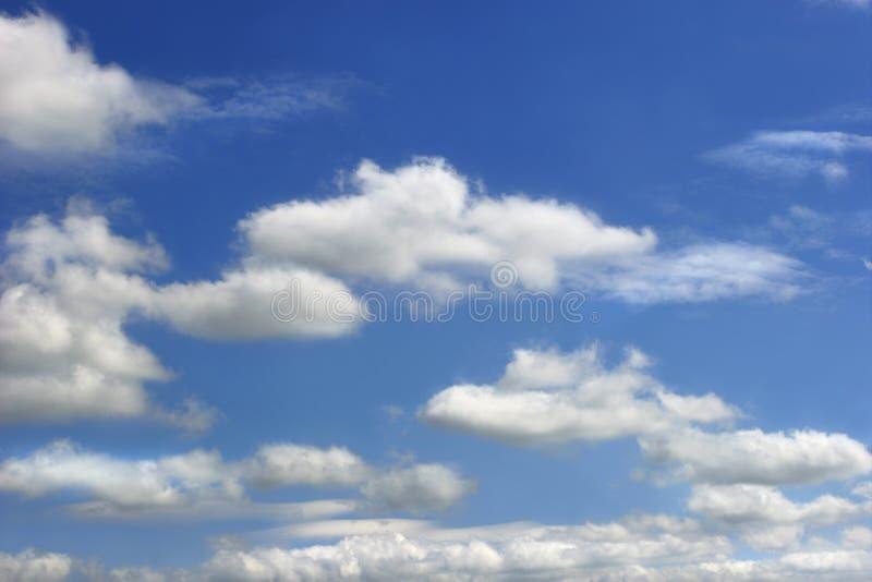 Nuvens de Altocumulus imagem de stock