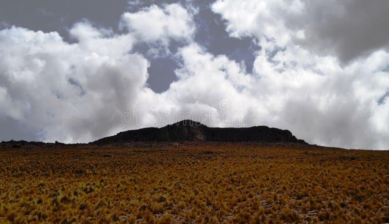 Nuvens de ameaça fotos de stock royalty free