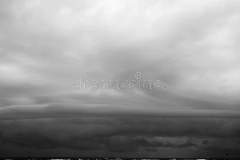 Nuvens de chuva imagens de stock royalty free