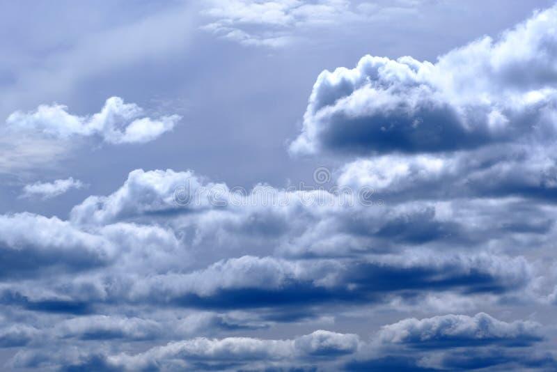 Nuvens de chuva pesada fotografia de stock royalty free