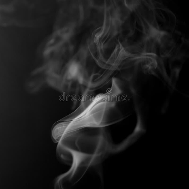 Nuvens de fumo fotografia de stock