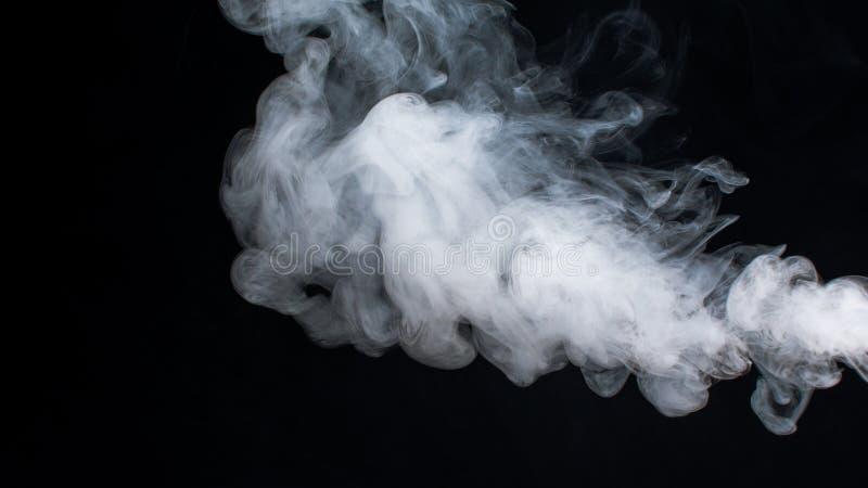 Nuvens de fumo foto de stock
