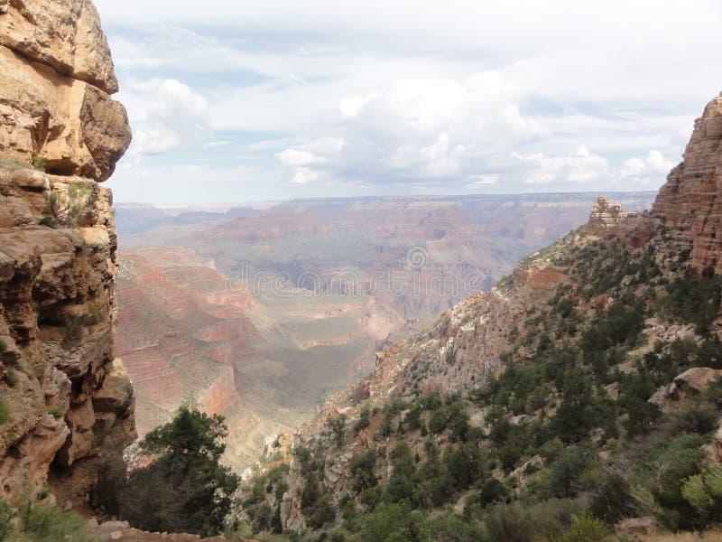 Nuvens de Grand Canyon foto de stock
