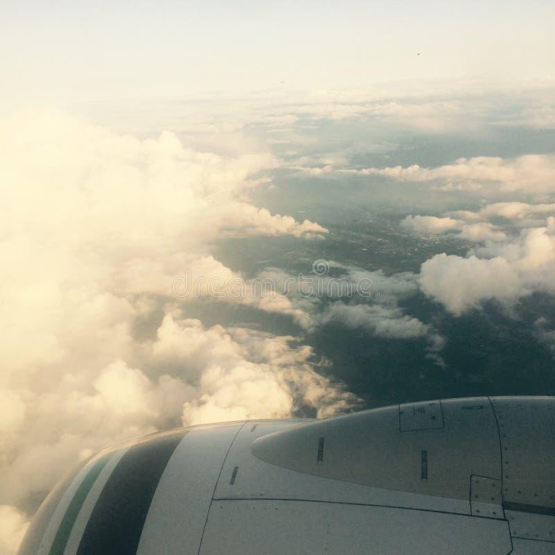 Nuvens de Oregon fotografia de stock royalty free