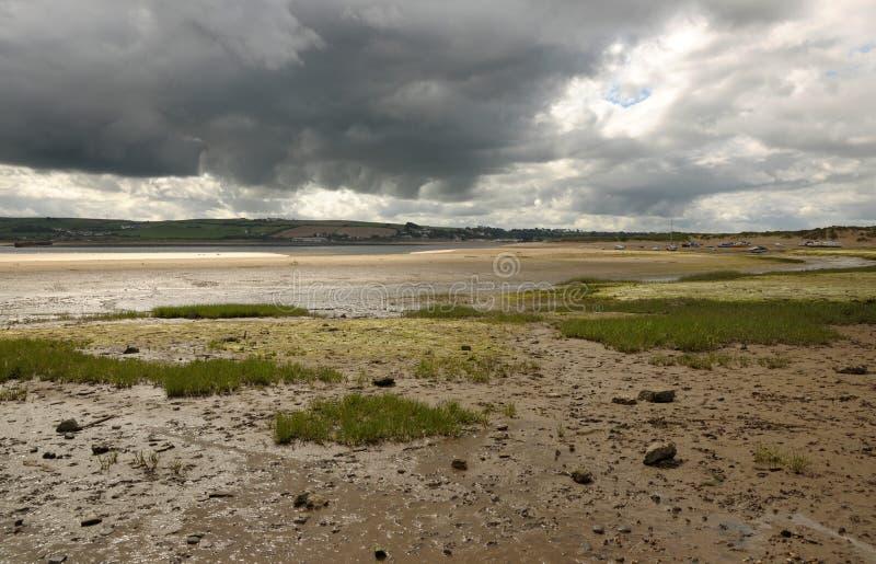 Nuvens de tempestade do verão. fotos de stock