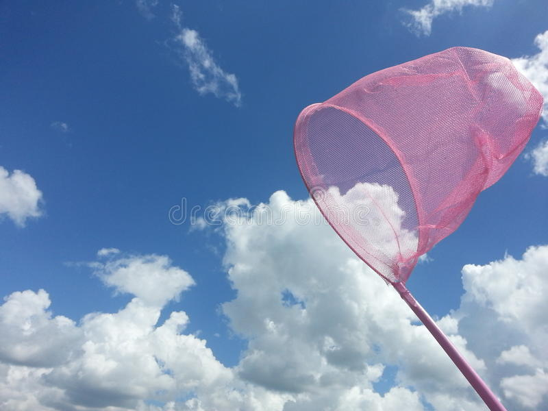 Nuvens de travamento foto de stock royalty free