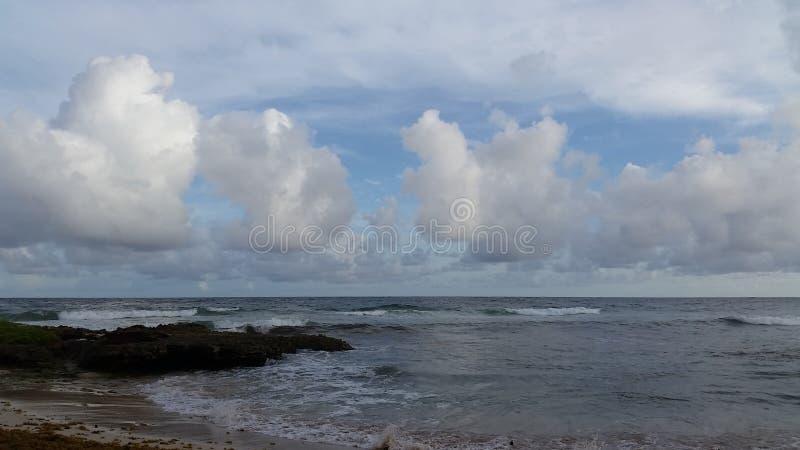 Nuvens do Candyfloss fotografia de stock