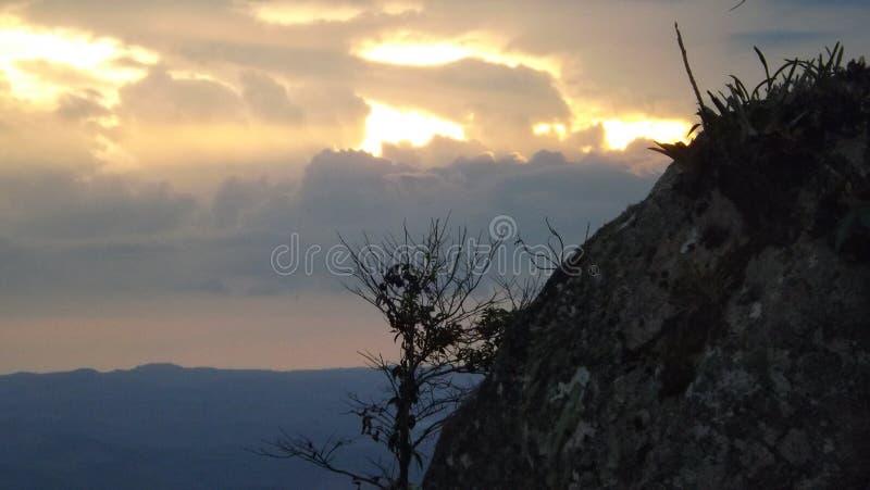 Nuvens do crepúsculo imagens de stock royalty free