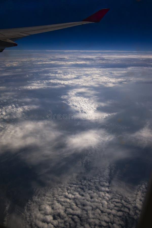 Nuvens do espaço   foto de stock royalty free