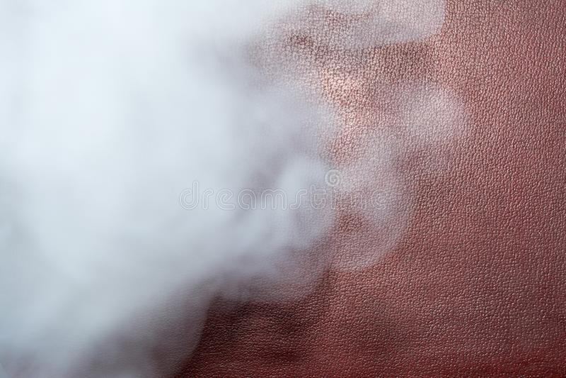 Nuvens do fumo grosso, fundo abstrato borrado imagem de stock royalty free
