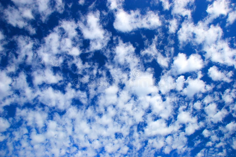 Nuvens e céu fotos de stock