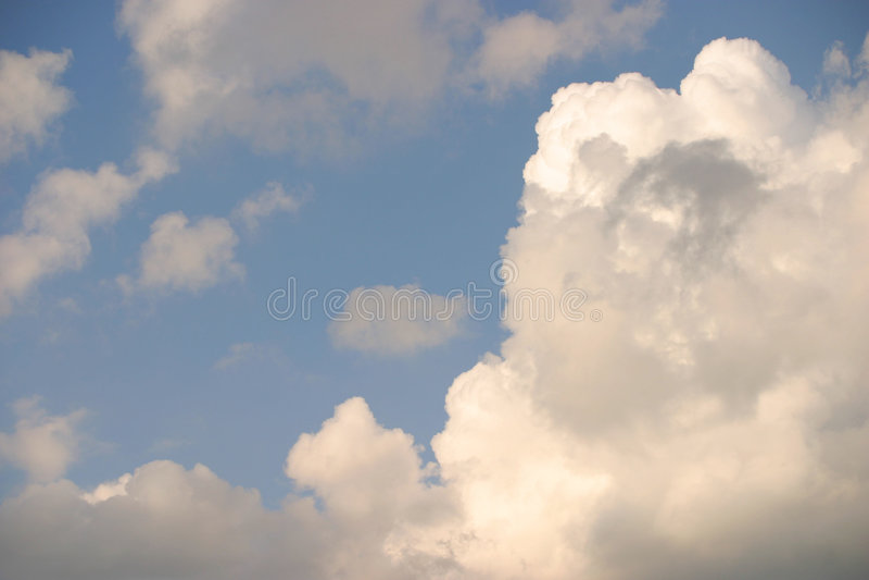 Nuvens Holandesas Fotografia de Stock Royalty Free