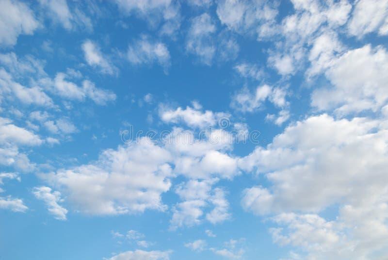 Nuvens macias foto de stock royalty free