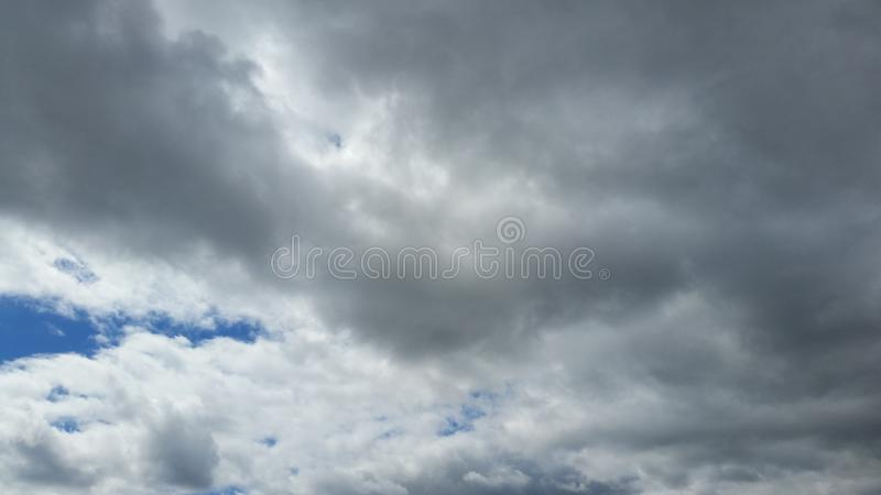 Nuvens no céu foto de stock royalty free