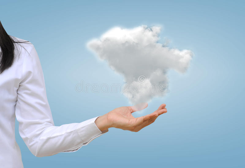 Nuvola fotografie stock