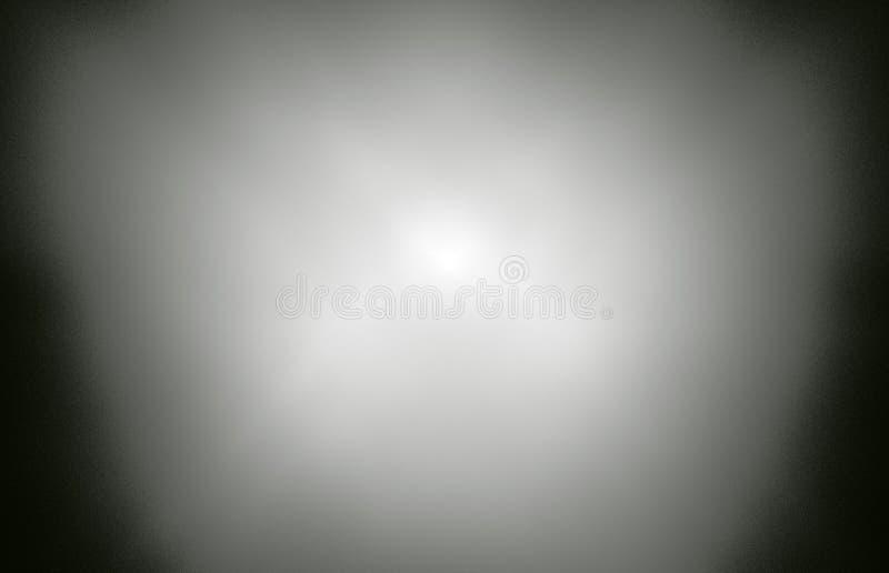 Nuvola bianca di frattale su fondo nero Struttura di frattale di fantasia Rotazione rosso-cupo di Digitahi art rappresentazione 3 illustrazione vettoriale