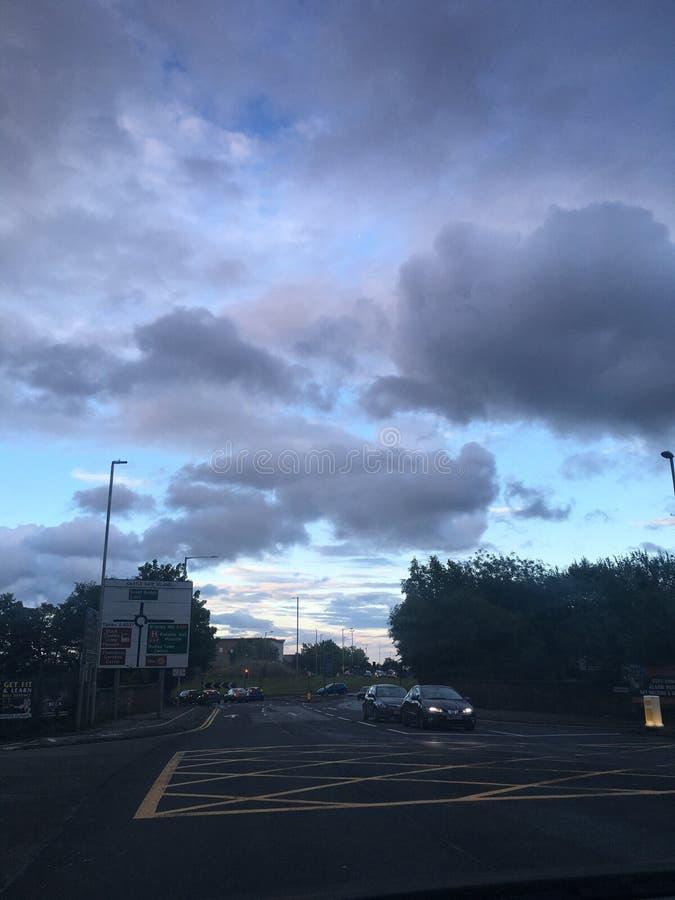 Nuvola che guarda fisso immagini stock libere da diritti