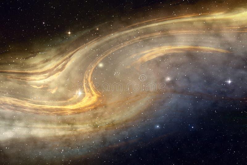 Nuvola cosmica illustrazione di stock