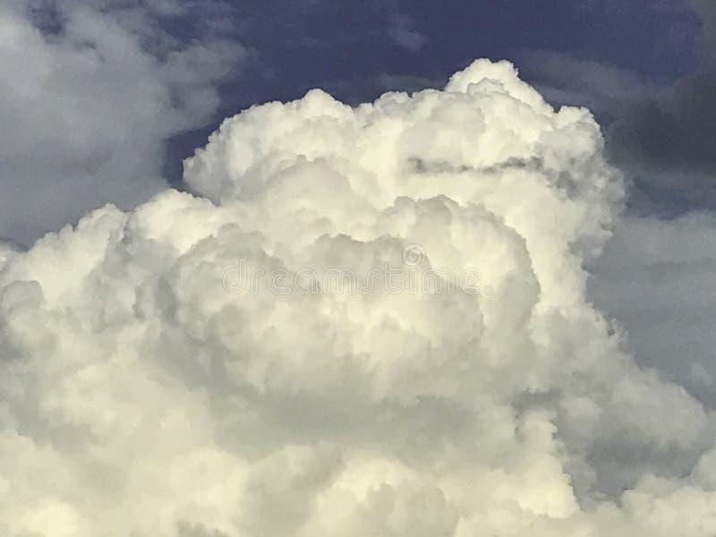Nuvola, cumulonembo, temporale sopra Oklahoma City fotografie stock libere da diritti
