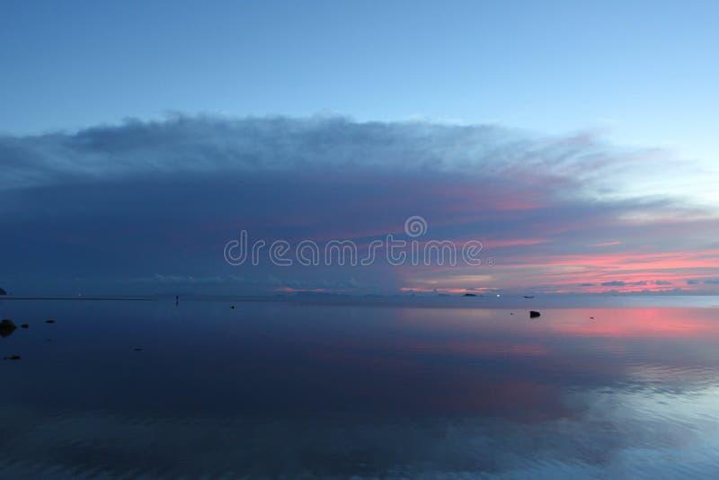 Nuvola dell'ombra fotografia stock libera da diritti