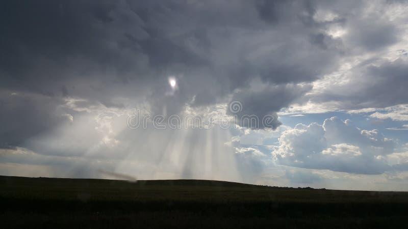 Nuvola di pioggia fotografie stock libere da diritti