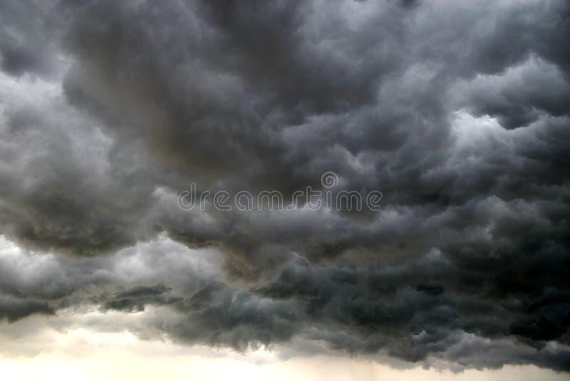 Nuvola di tempesta fotografie stock