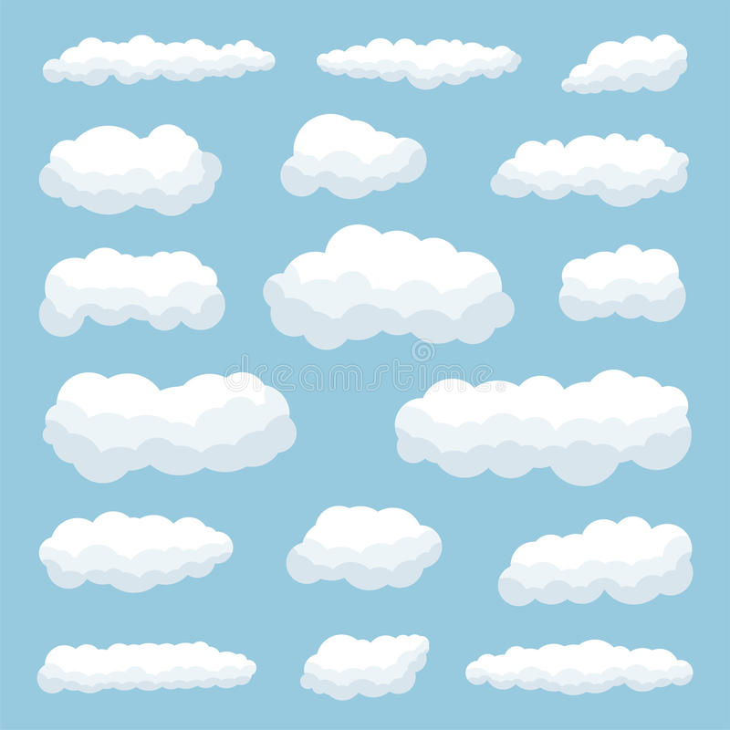 Nuvole illustrazione di stock