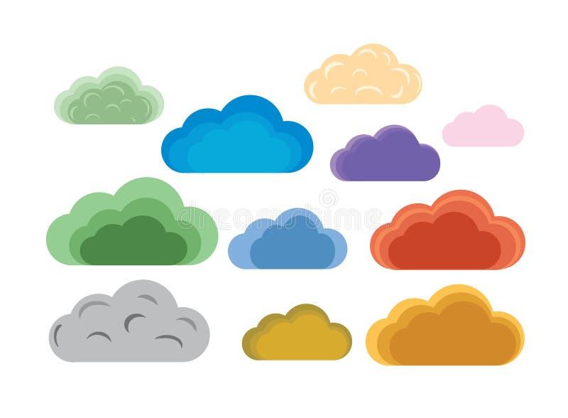 Nuvole royalty illustrazione gratis